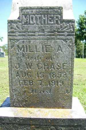 """CHASE, PERMELIA ANN """"MILLIE"""" - Benton County, Arkansas   PERMELIA ANN """"MILLIE"""" CHASE - Arkansas Gravestone Photos"""