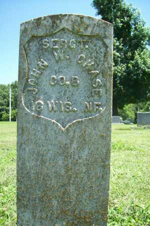 CHASE (VETERAN UNION), JOHN W - Benton County, Arkansas   JOHN W CHASE (VETERAN UNION) - Arkansas Gravestone Photos