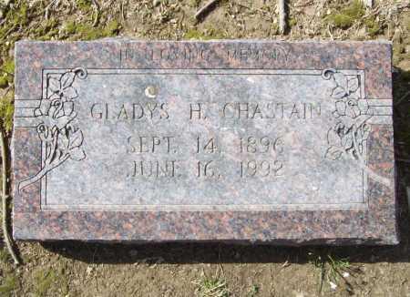 CHASTAIN, GLADYS H. - Benton County, Arkansas   GLADYS H. CHASTAIN - Arkansas Gravestone Photos