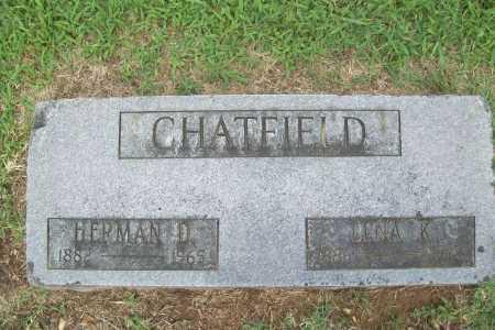 CHATFIELD, HERMAN D. - Benton County, Arkansas | HERMAN D. CHATFIELD - Arkansas Gravestone Photos