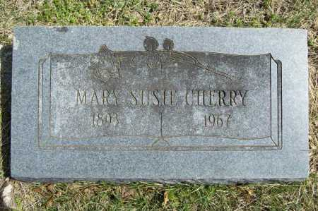 CHERRY, MARY SUSIE - Benton County, Arkansas | MARY SUSIE CHERRY - Arkansas Gravestone Photos