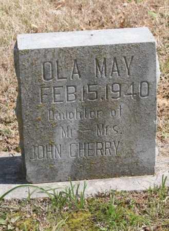 CHERRY, OLA MAY - Benton County, Arkansas   OLA MAY CHERRY - Arkansas Gravestone Photos