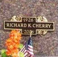 CHERRY (VETERAN WWII), RICHARD KEITH - Benton County, Arkansas | RICHARD KEITH CHERRY (VETERAN WWII) - Arkansas Gravestone Photos