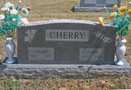 CHERRY (VETERAN WWI), JOHN G - Benton County, Arkansas | JOHN G CHERRY (VETERAN WWI) - Arkansas Gravestone Photos