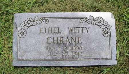 CHRANE, ETHEL - Benton County, Arkansas | ETHEL CHRANE - Arkansas Gravestone Photos