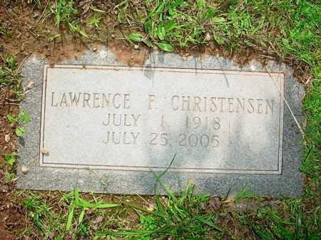 CHRISTENSEN, LAWRENCE F. - Benton County, Arkansas | LAWRENCE F. CHRISTENSEN - Arkansas Gravestone Photos