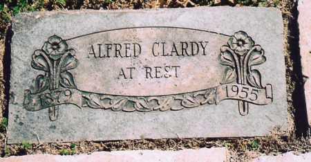 CLARDY, ALFRED - Benton County, Arkansas   ALFRED CLARDY - Arkansas Gravestone Photos