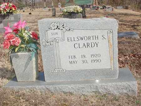 CLARDY, ELLSWORTH S. - Benton County, Arkansas | ELLSWORTH S. CLARDY - Arkansas Gravestone Photos