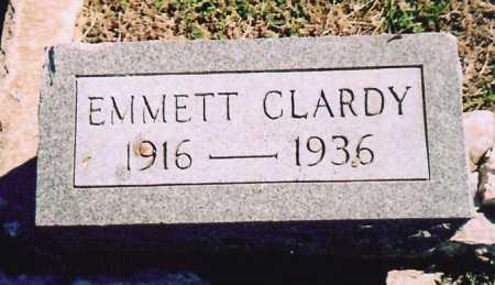 CLARDY, EMMETT - Benton County, Arkansas | EMMETT CLARDY - Arkansas Gravestone Photos