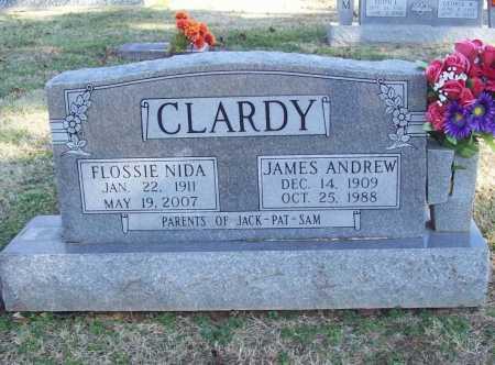 CLARDY, JAMES ANDREW - Benton County, Arkansas | JAMES ANDREW CLARDY - Arkansas Gravestone Photos