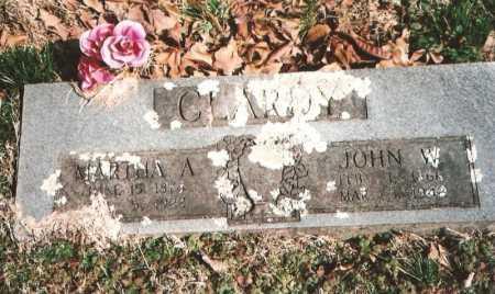 CLARDY, JOHN WASHINGTON - Benton County, Arkansas | JOHN WASHINGTON CLARDY - Arkansas Gravestone Photos