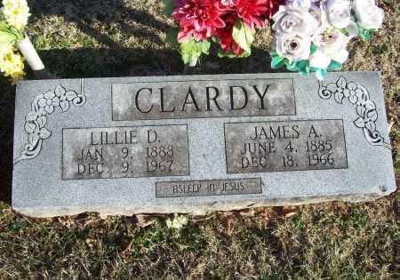 CLARDY, LILLIE DELL - Benton County, Arkansas | LILLIE DELL CLARDY - Arkansas Gravestone Photos