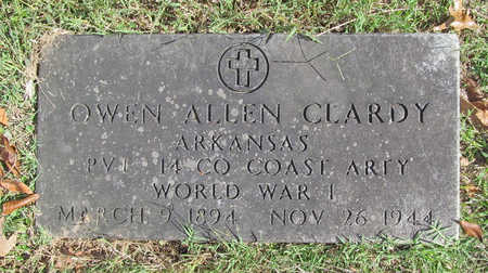 CLARDY (VETERAN WWI), OWEN ALLEN - Benton County, Arkansas | OWEN ALLEN CLARDY (VETERAN WWI) - Arkansas Gravestone Photos