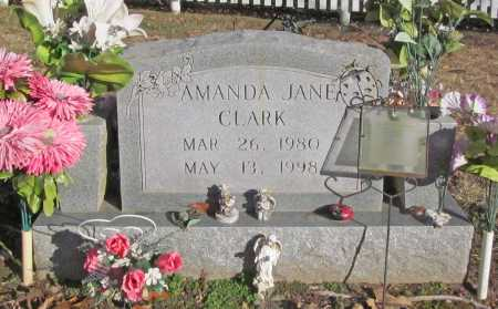 CLARK, AMANDA JANE - Benton County, Arkansas | AMANDA JANE CLARK - Arkansas Gravestone Photos