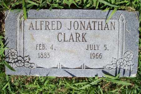 CLARK, ALFRED JONATHAN - Benton County, Arkansas | ALFRED JONATHAN CLARK - Arkansas Gravestone Photos