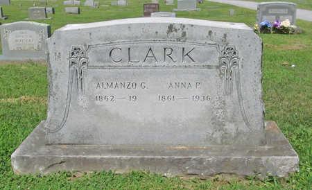 CLARK, ALMANZO G - Benton County, Arkansas | ALMANZO G CLARK - Arkansas Gravestone Photos