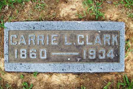 CLARK, CARRIE L. - Benton County, Arkansas   CARRIE L. CLARK - Arkansas Gravestone Photos