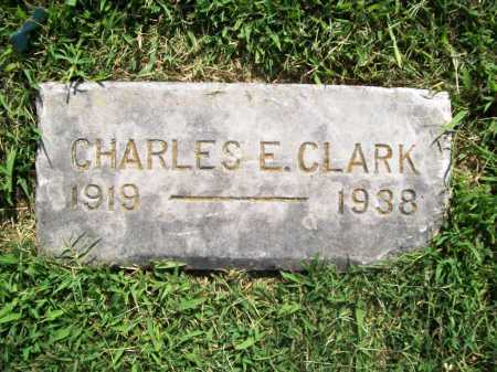 CLARK, CHARLES E. - Benton County, Arkansas | CHARLES E. CLARK - Arkansas Gravestone Photos
