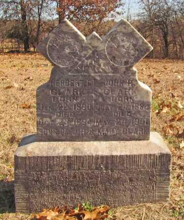 CLARK, HERBERT E - Benton County, Arkansas   HERBERT E CLARK - Arkansas Gravestone Photos
