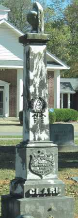 CLARK, JAMES W - Benton County, Arkansas   JAMES W CLARK - Arkansas Gravestone Photos