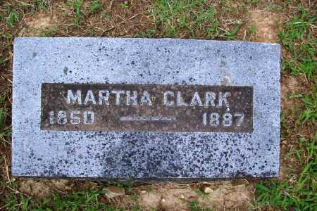CLARK, MARTHA - Benton County, Arkansas | MARTHA CLARK - Arkansas Gravestone Photos