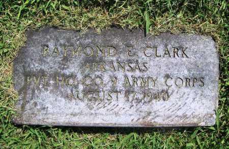 CLARK (VETERAN), RAYMOND E. - Benton County, Arkansas | RAYMOND E. CLARK (VETERAN) - Arkansas Gravestone Photos