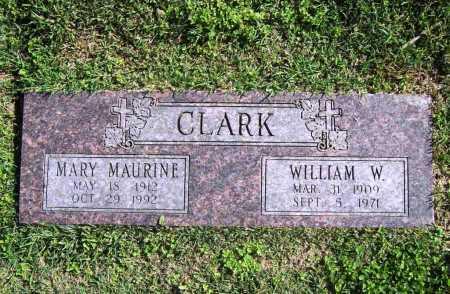 CLARK, WILLIAM W. - Benton County, Arkansas | WILLIAM W. CLARK - Arkansas Gravestone Photos