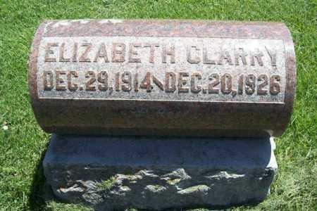 CLARRY, ELIZABETH - Benton County, Arkansas | ELIZABETH CLARRY - Arkansas Gravestone Photos