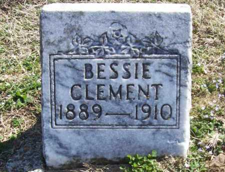 CLEMENT, BESSIE - Benton County, Arkansas | BESSIE CLEMENT - Arkansas Gravestone Photos