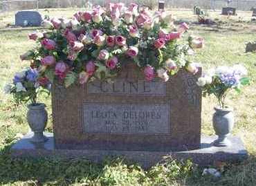 HEINTZ CLINE, LEOTA DELORES - Benton County, Arkansas | LEOTA DELORES HEINTZ CLINE - Arkansas Gravestone Photos