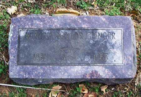 NAYLOR CLINGER, WINONA - Benton County, Arkansas | WINONA NAYLOR CLINGER - Arkansas Gravestone Photos