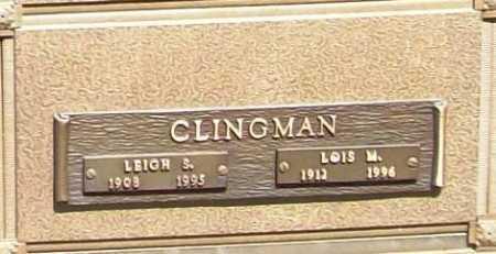 CLINGMAN, LOIS M. - Benton County, Arkansas | LOIS M. CLINGMAN - Arkansas Gravestone Photos