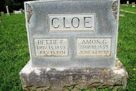 CLOE, BETTIE E. - Benton County, Arkansas | BETTIE E. CLOE - Arkansas Gravestone Photos