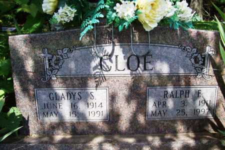 CLOE, GLADYS S. - Benton County, Arkansas | GLADYS S. CLOE - Arkansas Gravestone Photos