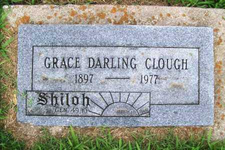 CLOUGH, GRACE DARLING - Benton County, Arkansas   GRACE DARLING CLOUGH - Arkansas Gravestone Photos