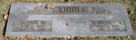COBBLE, SUSAN B - Benton County, Arkansas | SUSAN B COBBLE - Arkansas Gravestone Photos