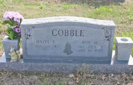COBBLE, ROY M - Benton County, Arkansas   ROY M COBBLE - Arkansas Gravestone Photos