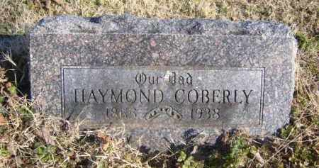 COBERLY, HAYMOND - Benton County, Arkansas | HAYMOND COBERLY - Arkansas Gravestone Photos