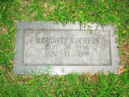 COCHRAN, MARGARET - Benton County, Arkansas | MARGARET COCHRAN - Arkansas Gravestone Photos