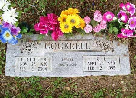 COCKRELL, LUCILLE R. - Benton County, Arkansas | LUCILLE R. COCKRELL - Arkansas Gravestone Photos