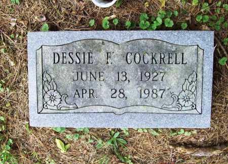 COCKRELL, DESSIE F. - Benton County, Arkansas | DESSIE F. COCKRELL - Arkansas Gravestone Photos