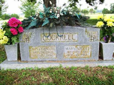 COCKRELL, DON THANUEL - Benton County, Arkansas | DON THANUEL COCKRELL - Arkansas Gravestone Photos