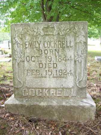 COCKRELL, EMILY - Benton County, Arkansas | EMILY COCKRELL - Arkansas Gravestone Photos