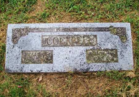 COCKRELL, JAMES N. - Benton County, Arkansas | JAMES N. COCKRELL - Arkansas Gravestone Photos