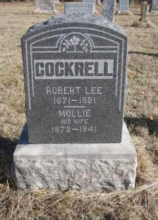 COCKRELL, MOLLIE - Benton County, Arkansas | MOLLIE COCKRELL - Arkansas Gravestone Photos