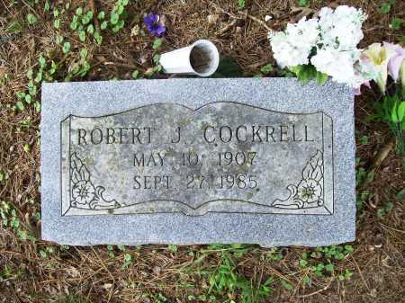 COCKRELL, ROBERT J. - Benton County, Arkansas   ROBERT J. COCKRELL - Arkansas Gravestone Photos