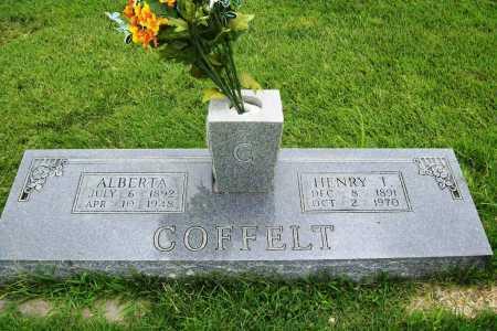 COFFELT, HENRY T. - Benton County, Arkansas   HENRY T. COFFELT - Arkansas Gravestone Photos