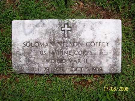 COFFEY (VETERAN WWII), SOLOMAN NELSON - Benton County, Arkansas | SOLOMAN NELSON COFFEY (VETERAN WWII) - Arkansas Gravestone Photos