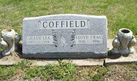 COFFIELD, JESSIE LEA - Benton County, Arkansas | JESSIE LEA COFFIELD - Arkansas Gravestone Photos