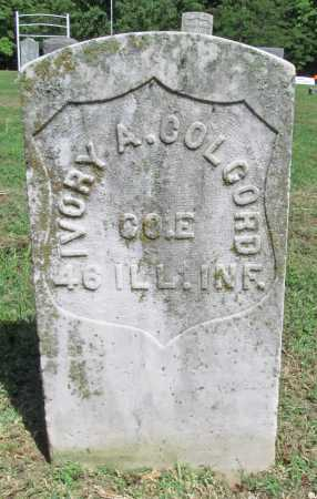 COLCORD (VETERAN UNION), IVORY ARTHUR - Benton County, Arkansas | IVORY ARTHUR COLCORD (VETERAN UNION) - Arkansas Gravestone Photos
